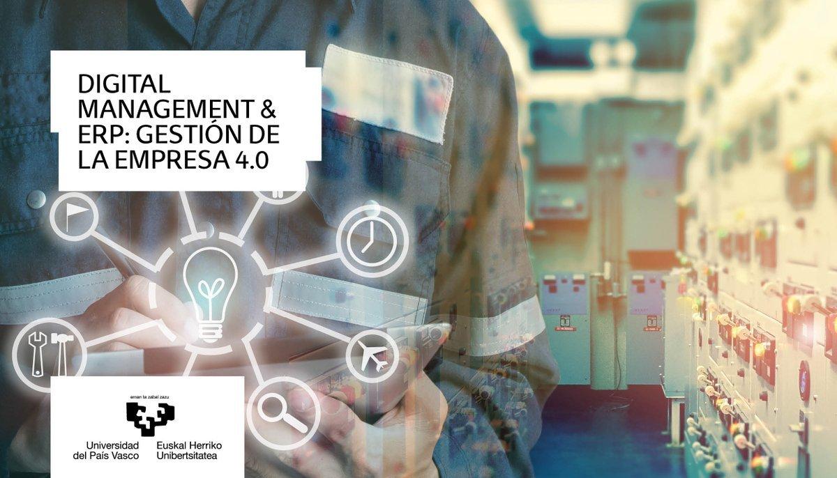 Máster DIGITAL MANAGEMENT & ERP: LA GESTIÓN DE LA EMPRESA 4.0
